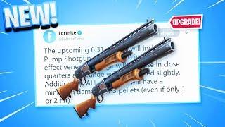 FINALLY.. New SHOTGUN BUFF in Fortnite!