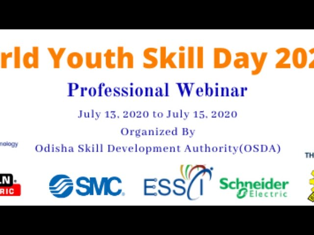 World Youth Skill Day 2020 || Industry 4.0-A Technology Enabler || OSDA || ITI Cuttack