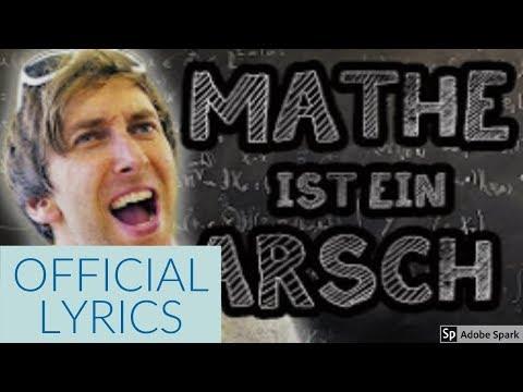 Sandra - Mathe ist ein Arsch (Official Lyrics)