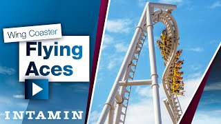 Intamin – Wing Coaster – Flying Aces @...