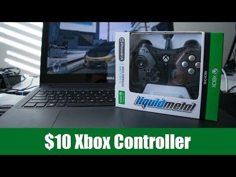 I Bought a $10 Xbox Controller - PowerA Liquid Metal Xbox One Controller