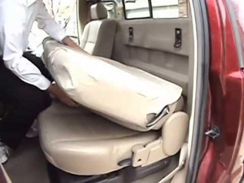 Installing PrecisionFit 60 40 Rear Seat Covers