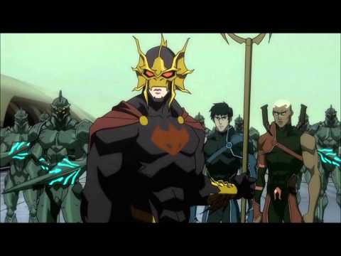 Justice League: The Flashpoint Paradox - Ravager vs. Atlantis Army