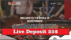 COINS HASH LIMITED - NEW 100% PAYING HYIP SITE - 1.5% HOURLY FOREVER - MINIMUM DEPOSIT 1$