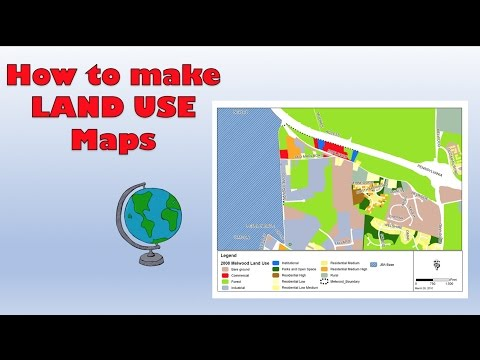 How to create a Land Use Survey on Google Maps - Course work tips (GCSE, A Level and IB)