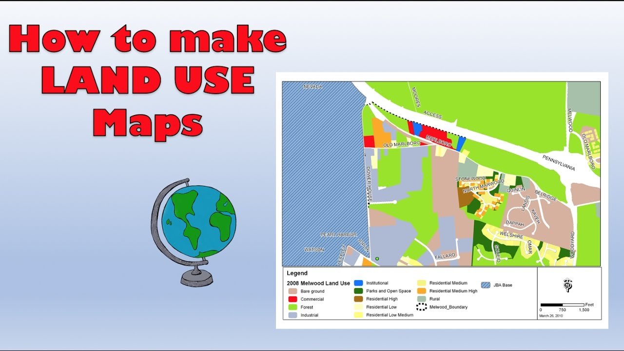 How to create a Land Use Survey on Google Maps - Course work tips ...