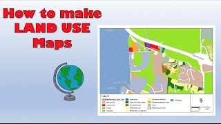How to create a Land Use Survey on Google Maps - Course work tips (GCSE, A Level and IB) Free HD Video