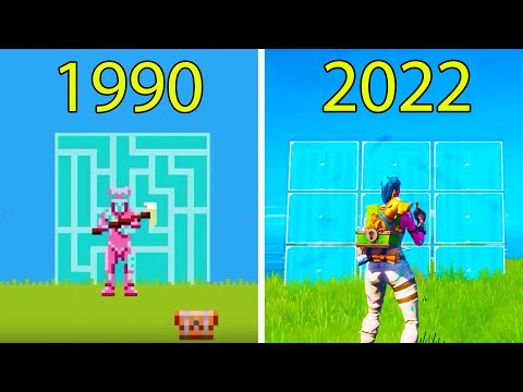 Evolution Of Fortnite Battle Royale 1990-2020