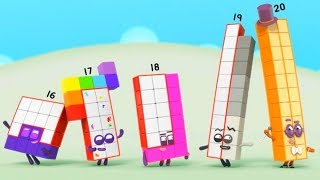 New Numberblocks Episodes with Twenty! Learn to count!