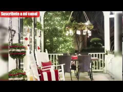 Decoración De Terrazas Y Balcones Para Navidad