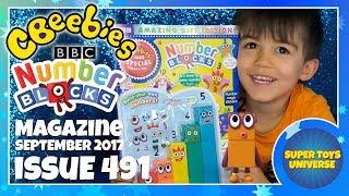 Video Cbeebies Magazine Issue 104 NUMBERBLOCKS special! September 2017 download MP3, 3GP, MP4, WEBM, AVI, FLV November 2017