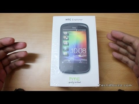 HTC Explorer Unboxing & Overview a budget android phone