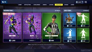 *NEW*Air Horn Emote & Disco Diva Skin (Back)! Fortnite Item Shop February 4, 2019