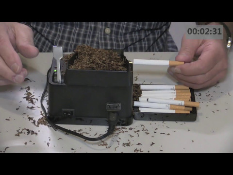 the enhancer cigarette machine