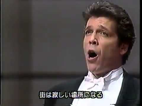 Thomas Hampson - Lonely Town - On the Town - Leonard Bernstein