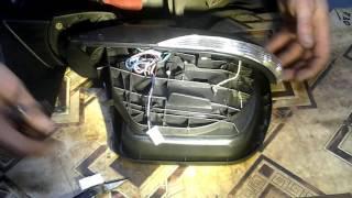 зеркала 3163 рестаил как заменить поворотник