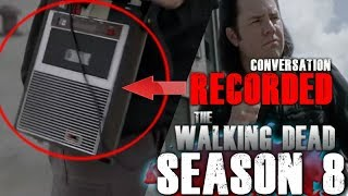 The Walking Dead Season 8 Mid-Season Finale - Dwight and Eugene's Conversation Recorded