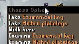 A key that opens GWD doors without kill count
