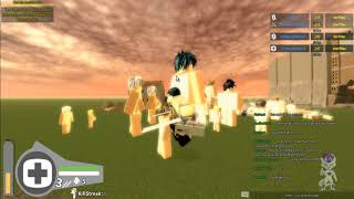 Attack On Titan (Testing 2) Assassinating Titans (Roblox)