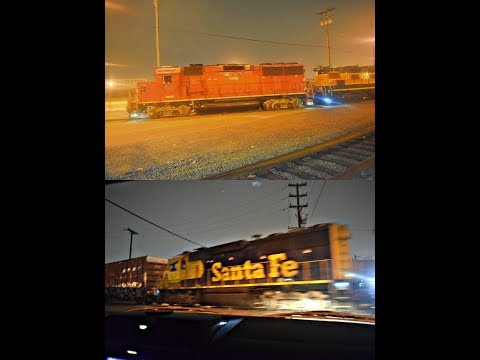1-7-18!! Railfanning Commerce & Montebello! Featuring GP60's, UP 2001 and MORE!