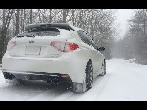 2014 Subaru Wrx Snow Trails Offroading Youtube