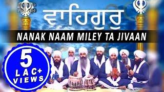 ਨਾਨਕ ਨਾਮੁ ਮਿਲੈ ਤਾਂ ਜੀਵਾਂ (Nanak Naam Miley Ta Jivaan)  Ragi Bhai Rajinderpal Singh   Shabad Gurbani