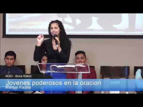 2015-04-25 - Jovenes poderosos en la oraci'on - Maribel Padilla