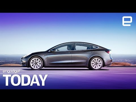 Tesla Model 3 long-range design explained in EPA filing | Engadget Today