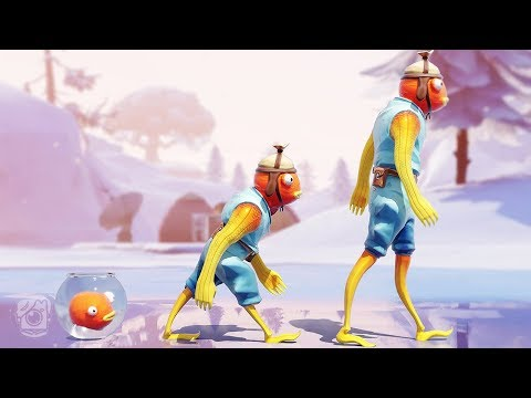 FISHSTICK'S SAD ORIGIN STORY! *Fishstick Backstory* - A Fortnite Short Film