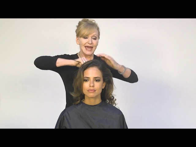 Fashion-forward Updo, Styling and Finishing Tutorial
