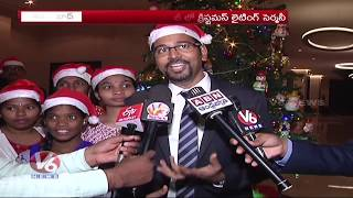 Novotel Hyderabad Airport Celebrates Christmas Tree Lighting Ceremony With Kids Of SOS Village