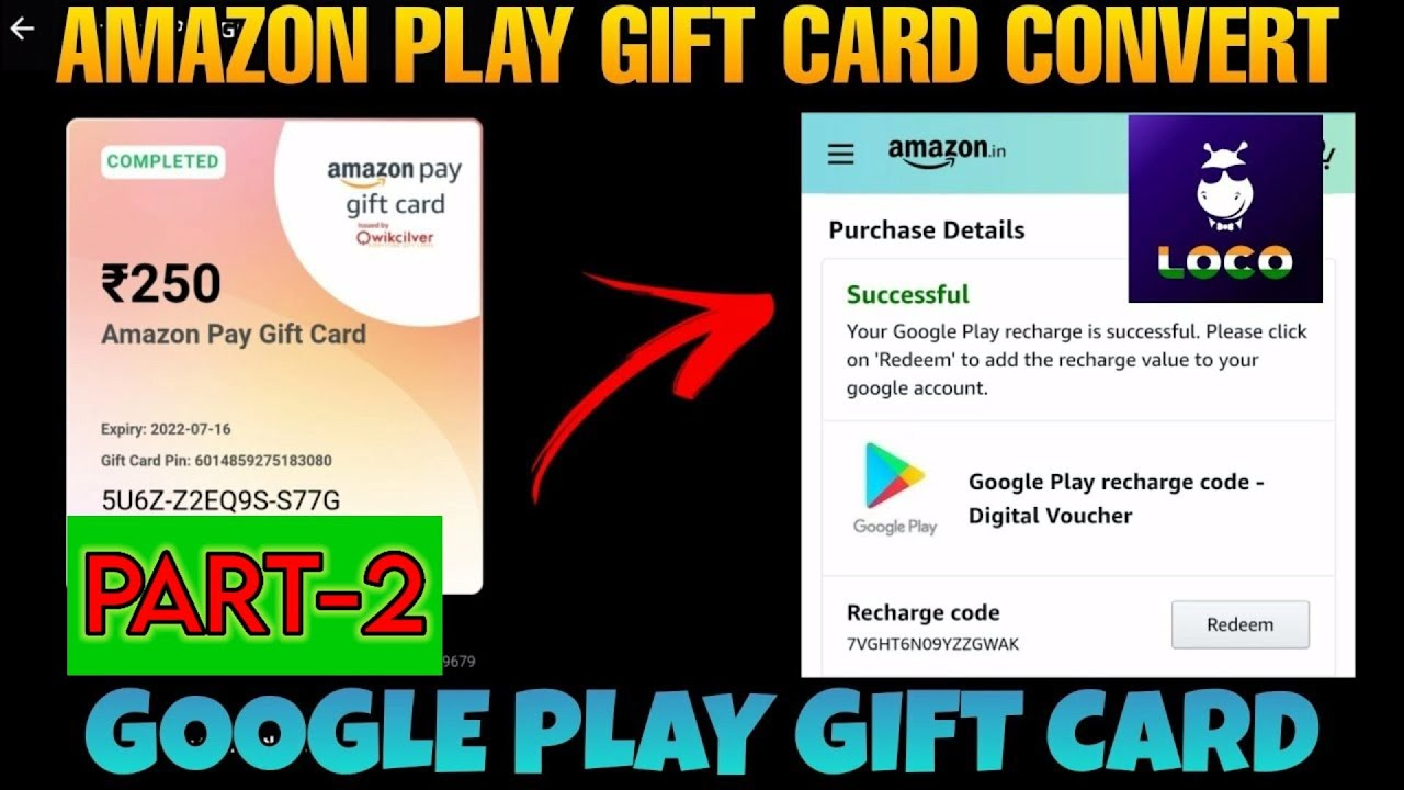 Amazon Play Gift Card Convert Google Play Gift Card Amazon Code Ko Convert Kaise Kre Google Code Mai