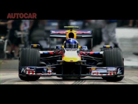 Goodwood FOS 2010 - Adrian Newey drives Red Bull RB5 F1