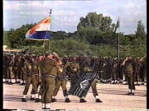 2nd Announcement of the disbandment of SADF: 32 Battalion on SABC News (26 March 1993)