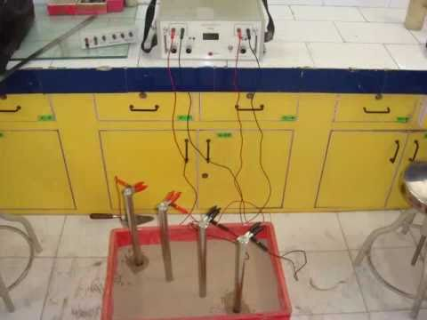 Anulab soil resistivity test on re wall backfill material for Soil resistivity