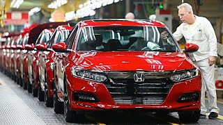 2019 Honda ACCORD Manufacturing - Honda ACCORD 2019 Production and Assembly