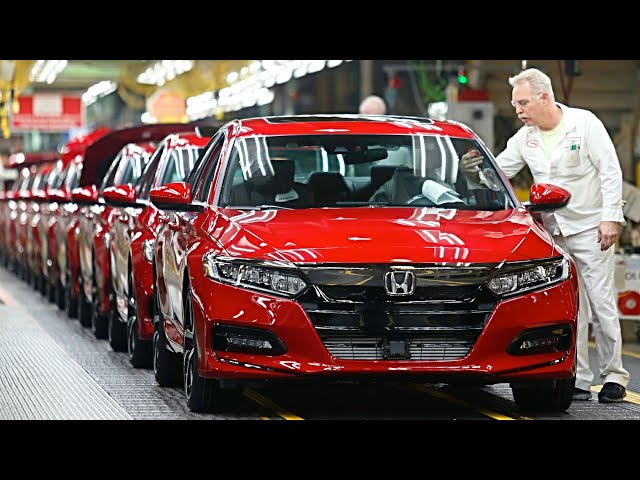 2019 Honda ACCORD Manufacturing – Honda ACCORD 2019 Production and Assembly