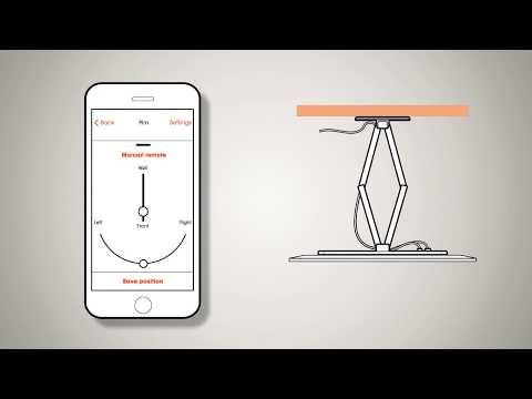 Monlines Mmotion Flip Elektrische Tv Deckenhalterung Produkt Video Youtube