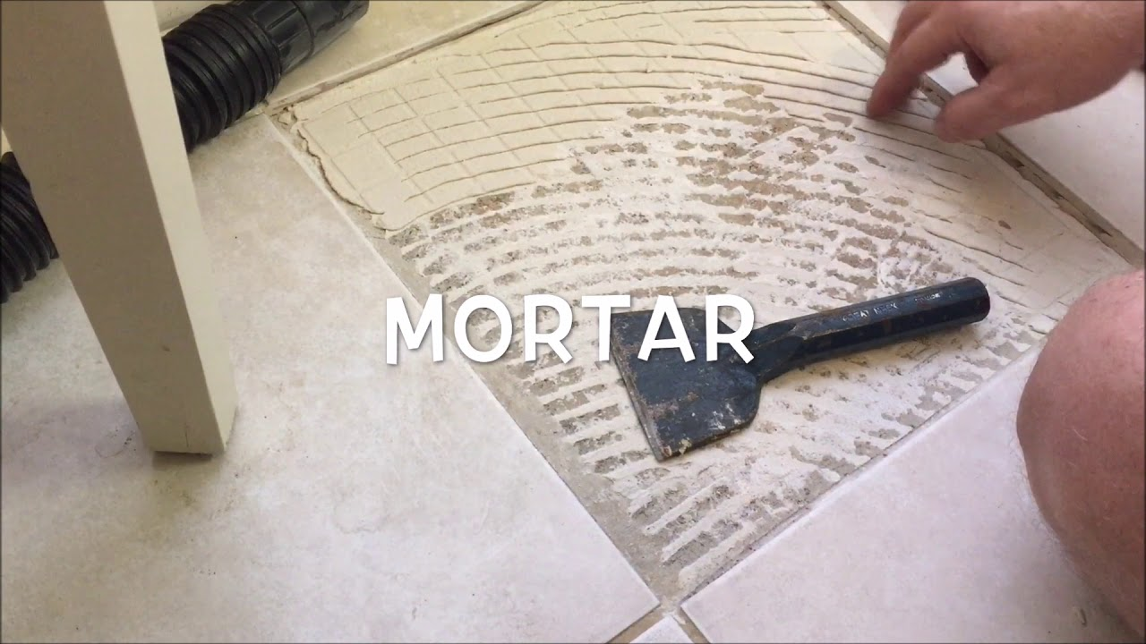 Replacing a single ceramic floor tile youtube replacing a single ceramic floor tile doublecrazyfo Gallery