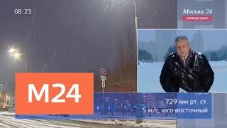"""""""Утро"""": морозы вернутся в столичный регион к концу недели - Москва 24"""