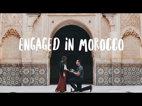 ENGAGED IN MOROCCO l Travel Vlog + Proposal Story