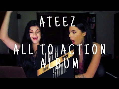 ATEEZ - ALL TO ACTION ALBUM | FIRST LISTEN