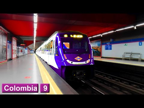 Colombia L9 : Metro de Madrid ( Serie 5500 - 7000 )