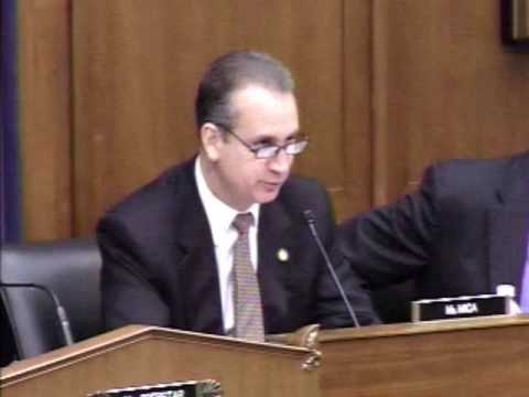 Mario Diaz-Balart Questions GSA Director Paul F. Prouty Regarding Use of Stimulus Funds