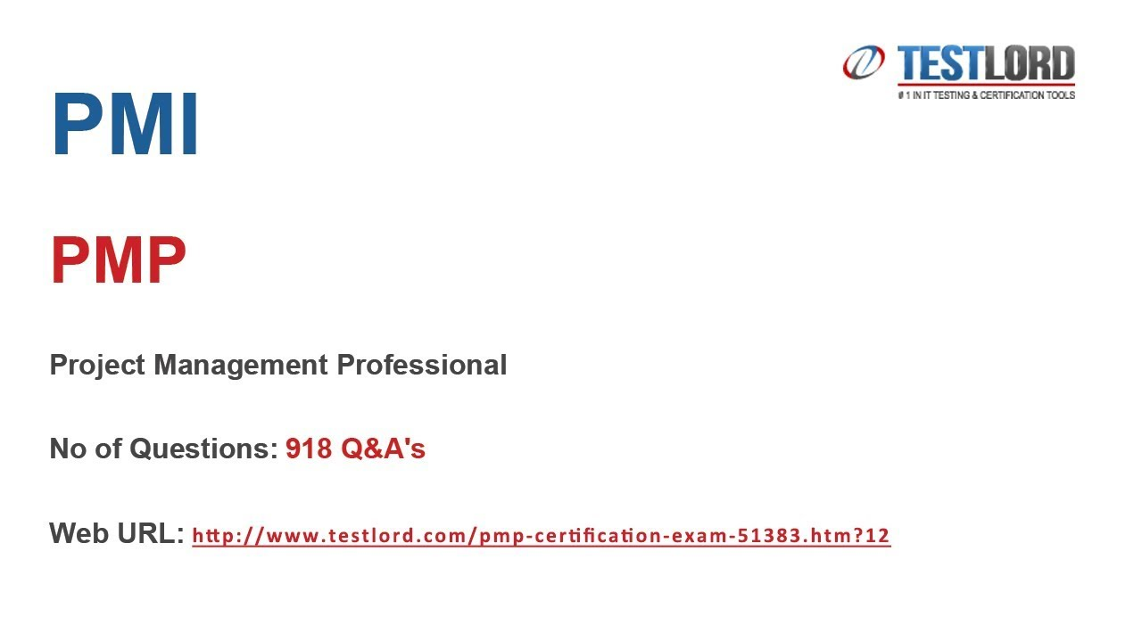 Pmi Pmp Certification Questions Answers In Pdf Youtube