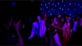 Bianca Wu Dancing at her Wedding with a Jabbawockeez White Mask