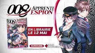 bande annonce de l'album 008 Apprenti espion T.1