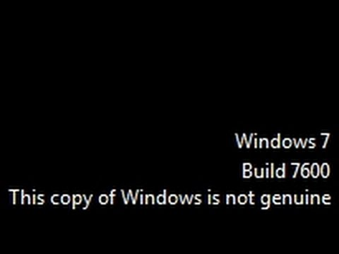 Windows 7 is activated, but not genuine - social.microsoft.com