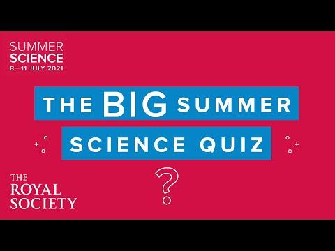 The Big Summer Science Quiz 2021 | The Royal Society