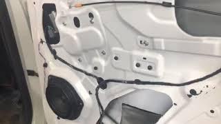 Сегодня будем рассматривать вибро-шумоизоляцию в дверях автомобиля Geely Atlas
